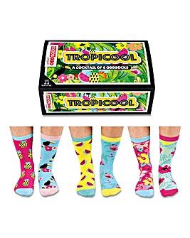 Tropicool Oddsocks for Ladies