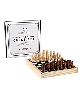 Dapper Chap Chess Set