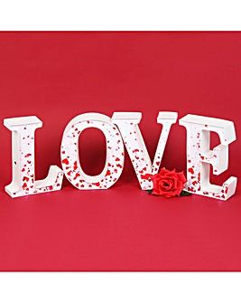 Valentines Love Light Up Letters
