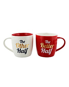 Other Half Valentines Mug Set