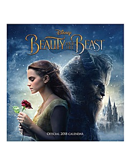 2018 Beauty and The Beast Calendar