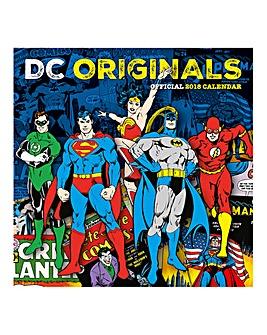 2018 DC Comics Calendar