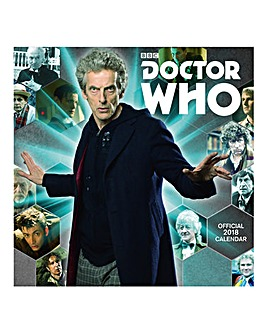 2018 Doctor Who Classic Edition Calendar