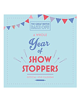 2018 Great British Bakeoff Calendar