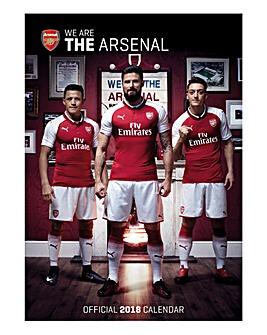 2018 Arsenal Calendar