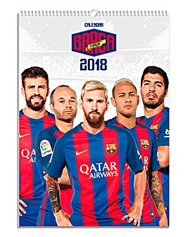 2018 Barcelona Calendar