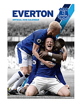 2018 Everton Calendar