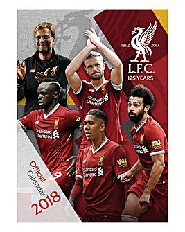 2018 Liverpool Calendar