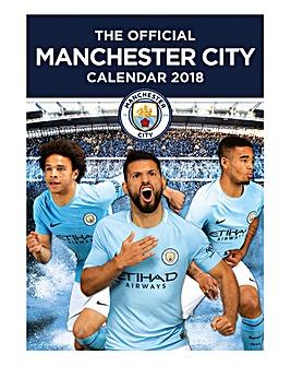 2018 Manchester City Calendar