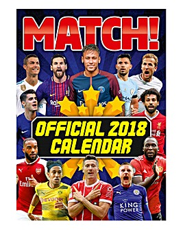 2018 Match!Football Magazine Calendar