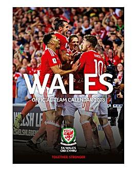 2018 Wales National Football Calendar