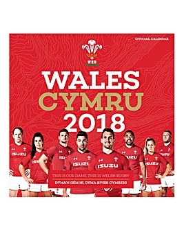 2018 Welsh Rugby Union Calendar