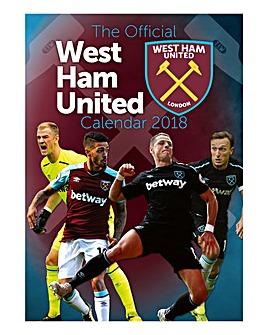 2018 West Ham Calendar