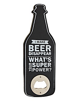 Make Beer Disappear Bottle Opener