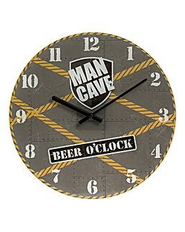 Man Cave Clock