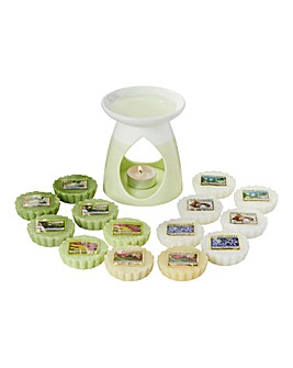 Yankee Candle Pastel Green Melt Warmer