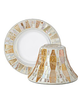 Yankee Candle Mosaic Shade and Tray