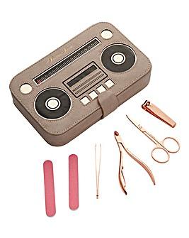 Vintage Radio Manicure Set