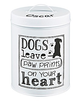 Personalised Paw Prints Tin