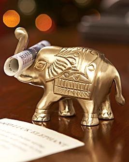 Lucky Brass Elephant