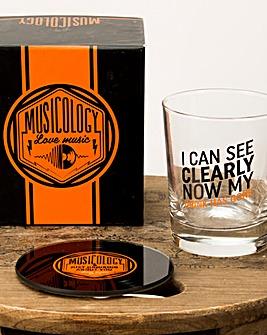 Musicology Tumbler Glass