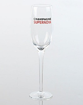Musicology Champagne Flute Glass