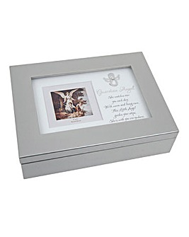 Musical Guardian Angel Keepsake Box