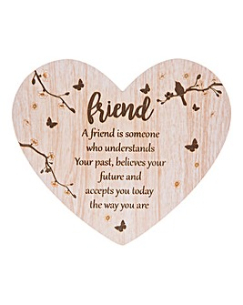Woodland Heart Message