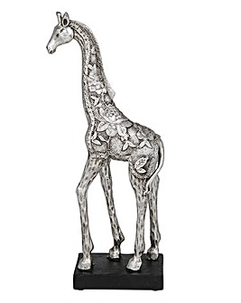 Silver Etch Giraffe