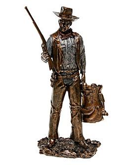 Bronze Standing Cowboy