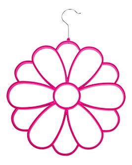 Pink Flower Scarf Hanger