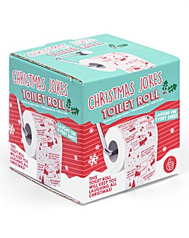 Christmas Jokes Toilet Roll
