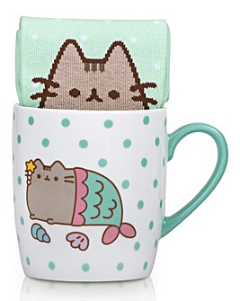 Pusheen Mermaid Mug and Socks