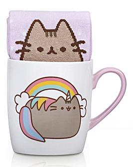Pusheen Unicorn Mug and Socks