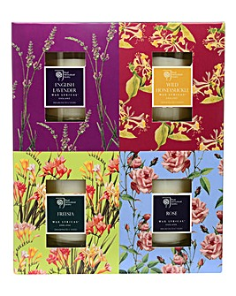 RHS set 4 Candle Gift Set