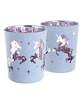 Set 2 Votive Candle Holders