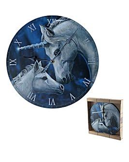Lisa Parker Sacred Love Unicorn Clock