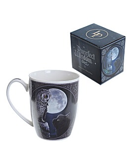 Lisa Parker Owl and Cat Mug