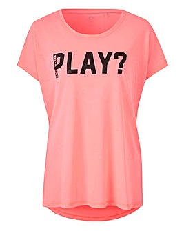 Only Play Cheer Loose Fit T-Shirt