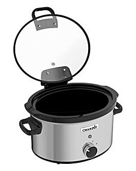 Crockpot 3.5Litre Hinged Lid Slow Cooker