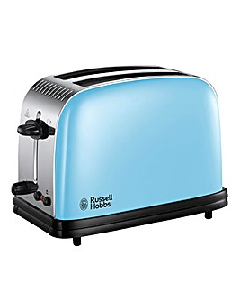 Russell Hobbs Colours Plus Blue Toaster