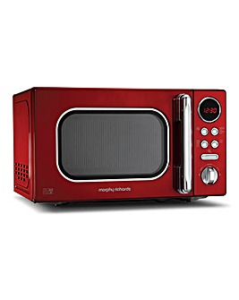 Morphy Richards 20L 800W Red Microwave