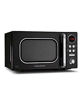 Morphy Richards 20L 800W Black Microwave