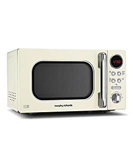 Morphy Richards 20L 800W Cream Microwave