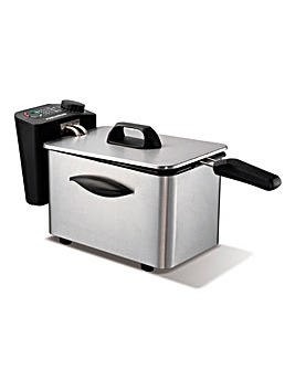 Morphy Richards 2L Brushed Steel Fryer