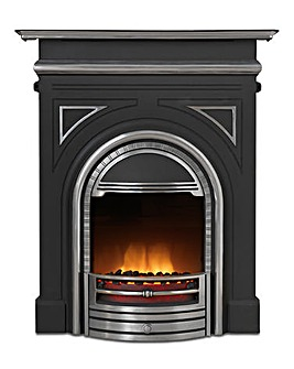 Dimplex Burlington Cast Fire Suite