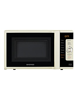 Daewoo 28L 3in1 Combi Cream Microwave