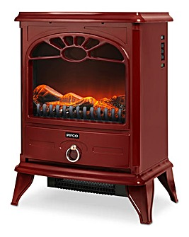 Warmlite 2000W Compact Red Stove