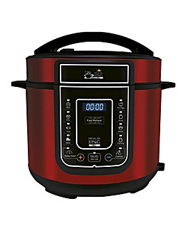 Pressure King Pro 5 Litre Red Cooker