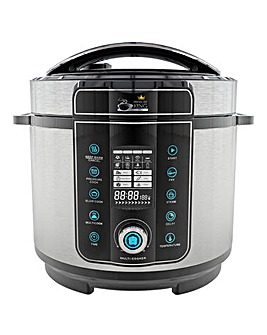 Pressure King Pro 6 Litre Chrome Cooker